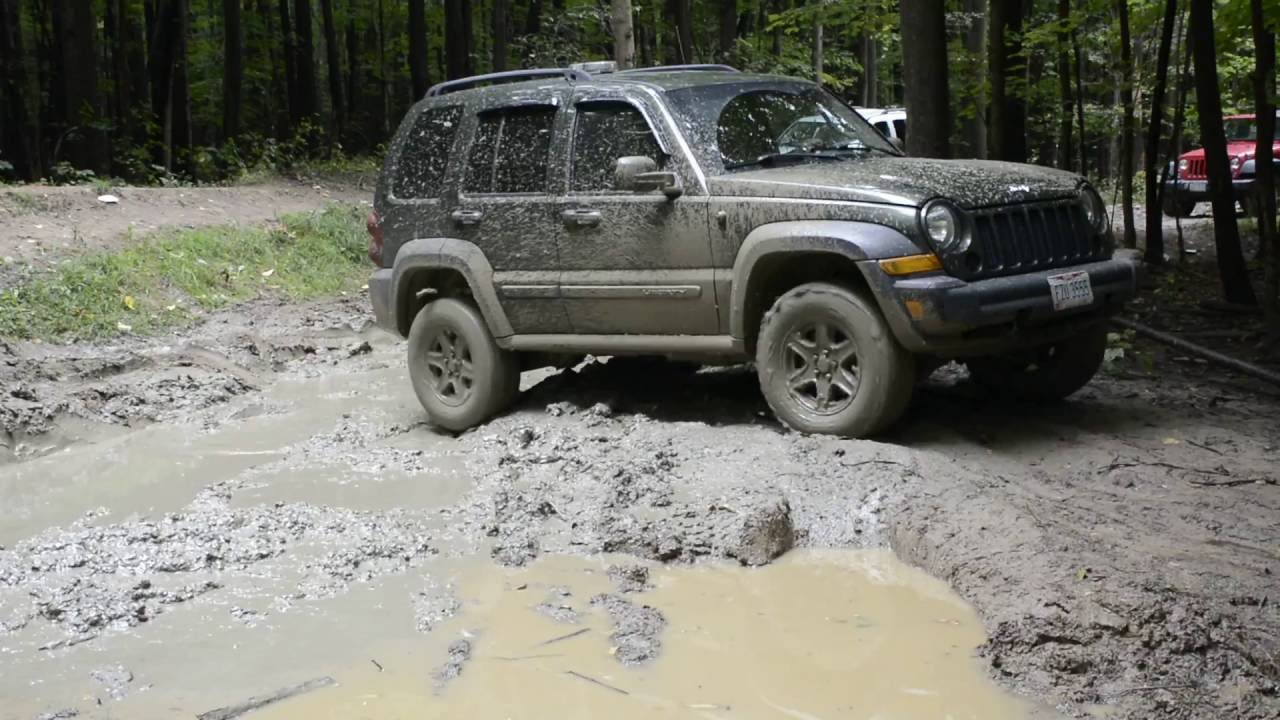 Jeep Liberty Offroad - YouTube