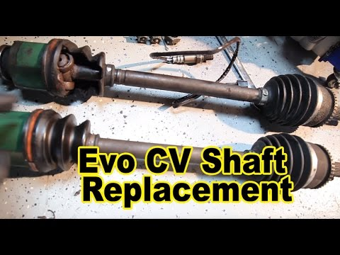Evo CV Shaft Replacement Voltex Evo Build 15 YouTube