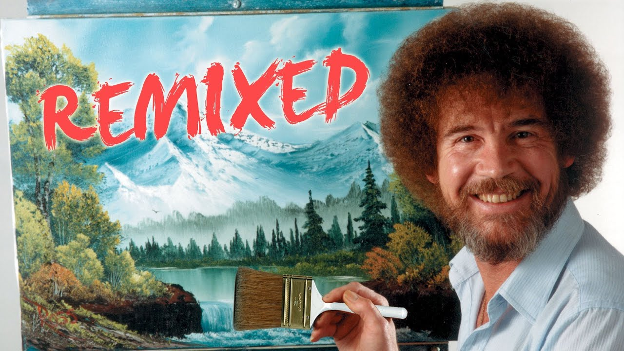 Bob Ross Remixed Happy Little Clouds Pbs Digital Studios Youtube