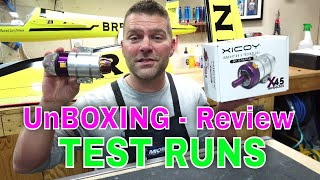 XICOY X45 MICRO TURBINE - Unboxing, Test Run and Review - By Gaspar