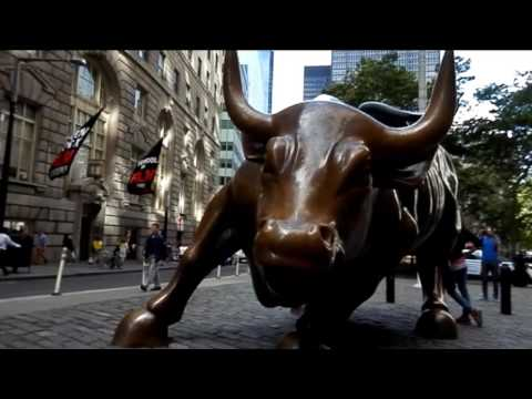 The Wall st Charging Bull