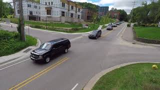 Procession for Amway Co-founder Rich DeVos