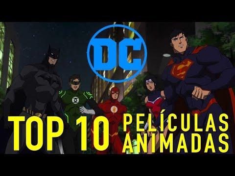 las 10 mejores películas animadas de dc comics