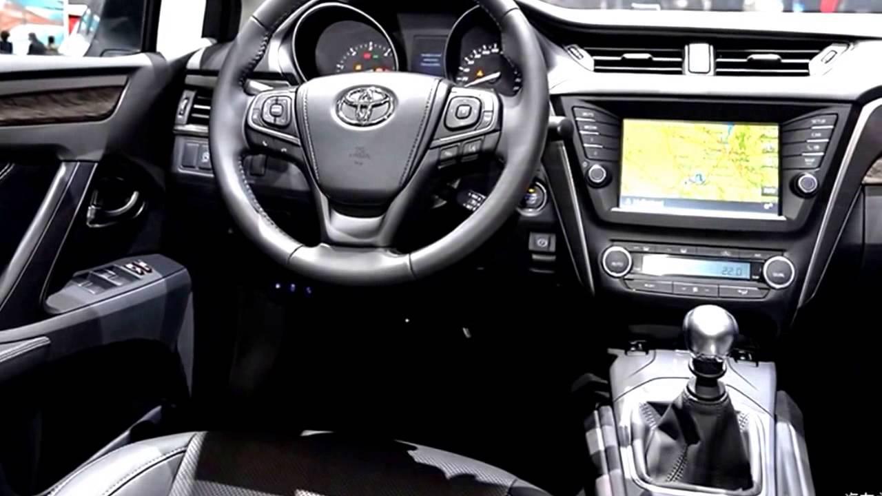 Новый Тойота Авенсис 2016 - YouTube