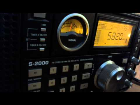 RTE Radio 1 19:30 UTC on 5820 Khz 5 January 2016