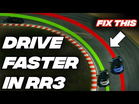 How To Drive FASTER In Real Racing 3 / Tips And Tricks