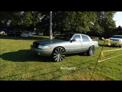 ford taurus on velocity wheels at mlk park doovi. Black Bedroom Furniture Sets. Home Design Ideas