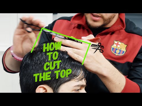 How to cut the top with Shears - Tutorial for Beginners