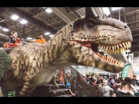 Jurassic Quest 2018 Dinosaur Event