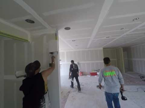 Drywall Installation Full House Renovation/ By Greenwise Construction Los Angeles General Contractor
