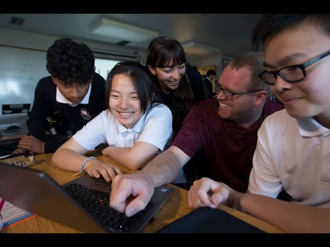 Online Learning in Senior School