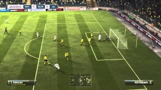 FIFA 13 | 1 Shot and 2 Crossbars (Funny) | TacTixHD