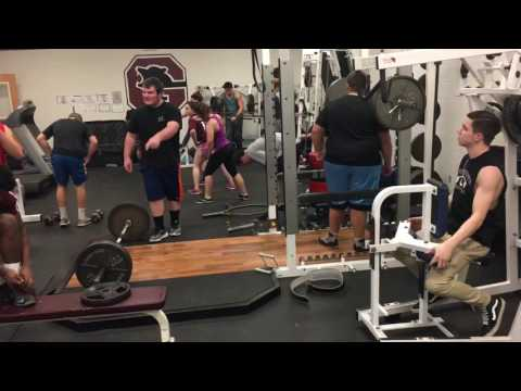 Goffstown High School weight room