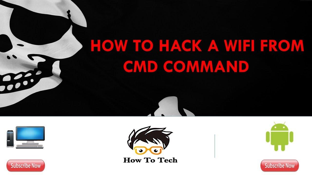 How to hack neighbors wifi password using cmd