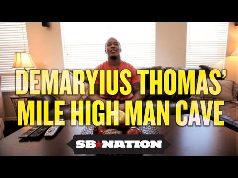 NFL Cribs 2012 - Demaryius Thomas kicks back on his day off