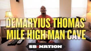 NFL Cribs 2012 - Demaryius Thomas kicks back on his day off