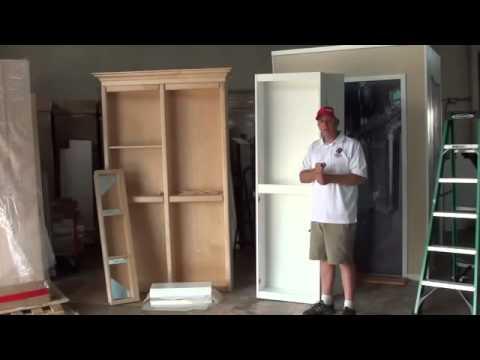Murphy Door Surface Mount Bifold Install Part 1 Youtube