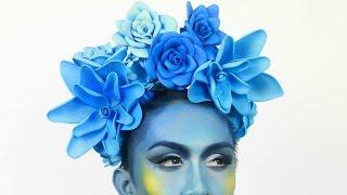 DIY Flower Crown Headpiece Using Foam Sheets