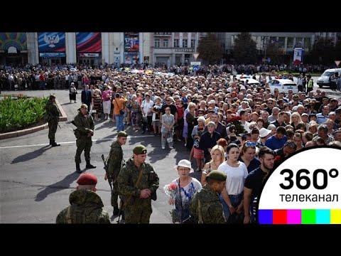 На прощание с Захарченко в Донецке пришли более 120 тысяч человек - СМИ2