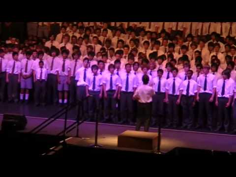 Kiss Him Goodbye - Forrest Special Choir @ MHS choral competition 2009