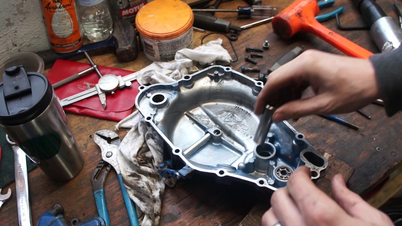 medium resolution of suzuki lt250r water pump repair