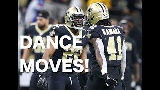 Mark Ingram, Alvin Kamara show off their dance moves: minicamp raw footage