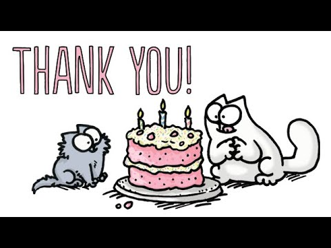 Cakes, Balloons and Friends - Simon's Cat I COLLAB