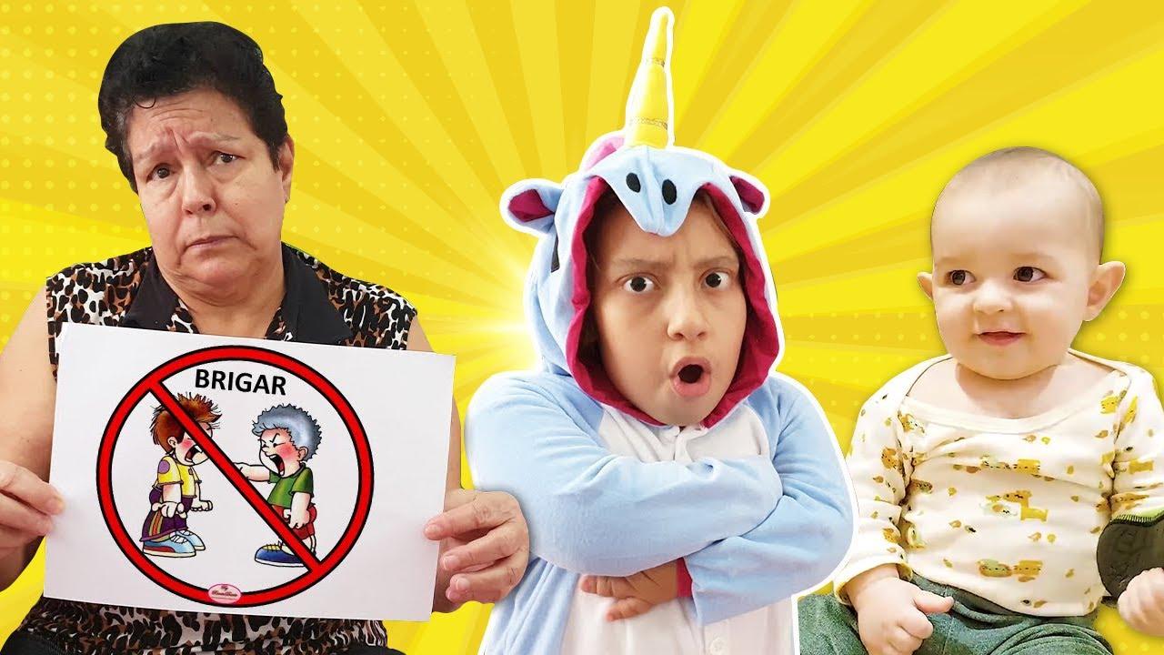 Novas Regras de Conduta para Irmãos e Bebês (New Rules of Conduct) - Família MC Divertida