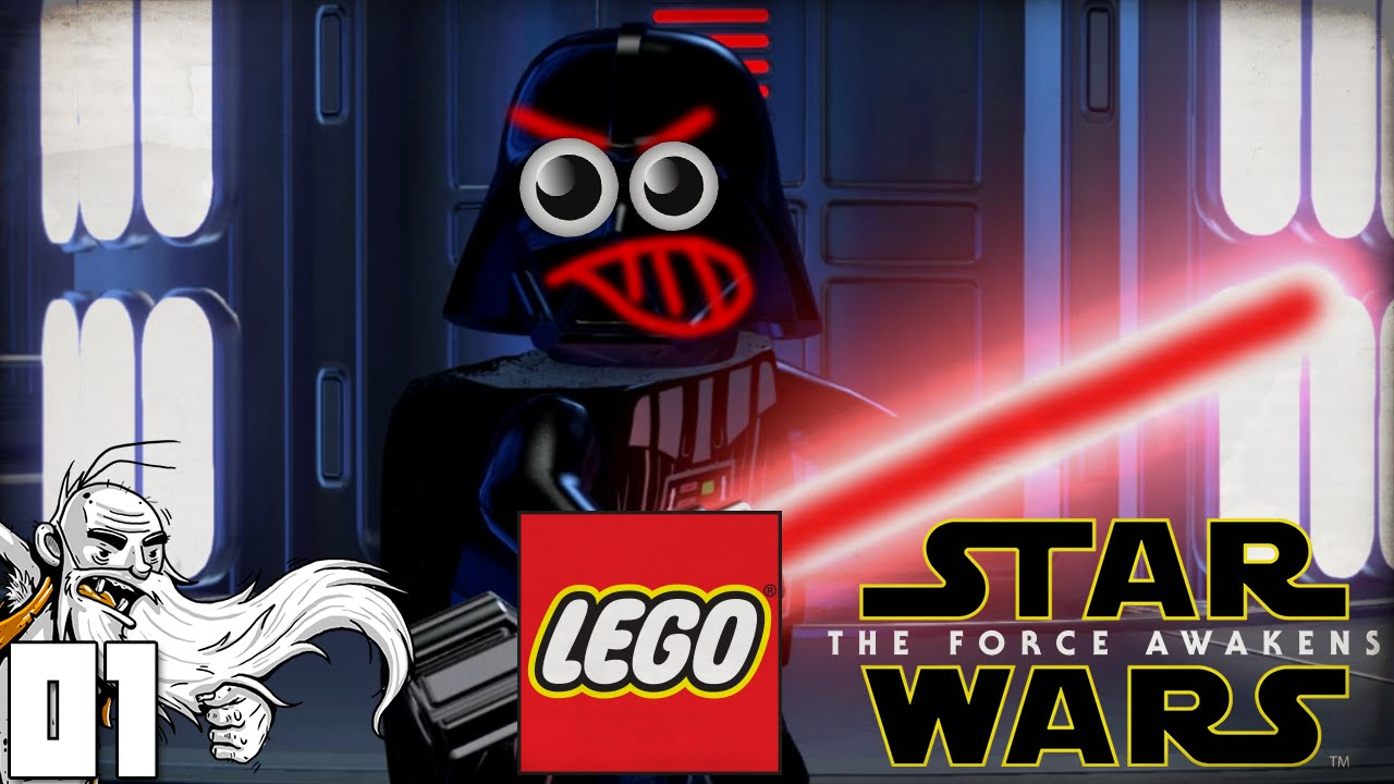 """Star Wars Force Awakens 1080p: """"PROLOGUE: THE BATTLE OF ENDOR!!!"""" Let's Play LEGO Star"""