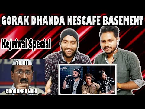 Indian Reaction on Gorak Dhanda By NESCAFE Basement Season 4 | Krishna Views
