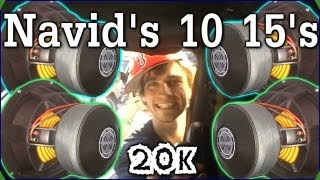 LOUD Bass Knocks Hat Off | Navid's 20,000 Watt Stereo System w/ 10 15