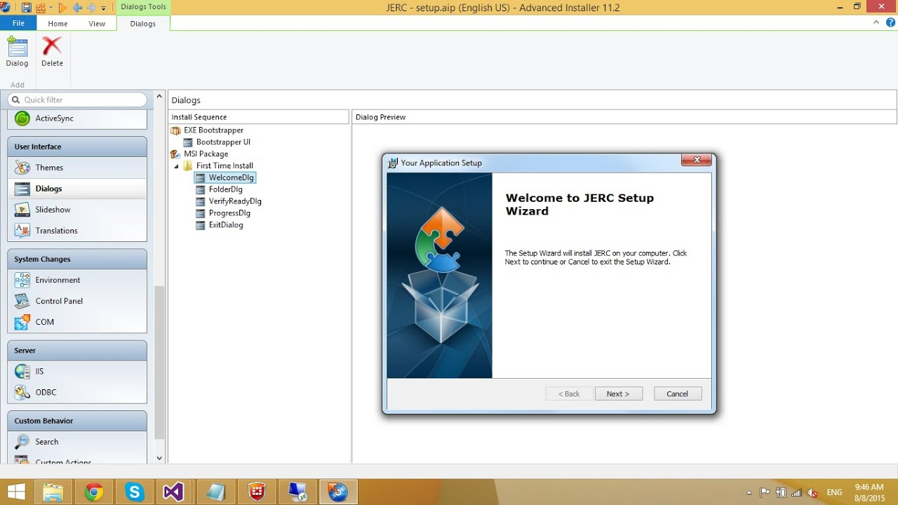 Advanced Installer - How to Create a Setup file | FoxLearn