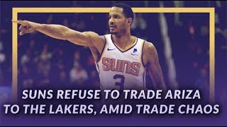 Lakers News Feed: Suns Refuse to Trade Trevor Ariza to the Lakers, Amid Trade Chaos