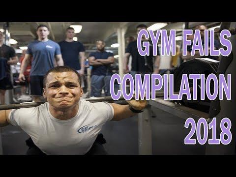ABSOLUTE FAIL - GYM FAILS COMPILATION 2018
