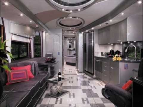 Modern RV Interior Ideas - RV Hunters - YouTube