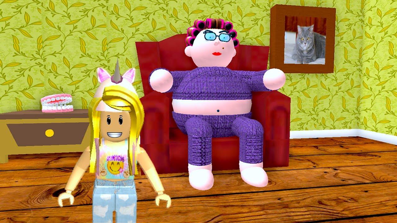 Escape Evil Grandma S House In Roblox Youtube - Roblox Escape Scary Grandma S House Youtube