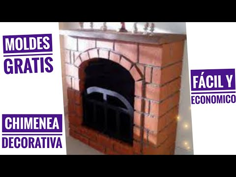 Download video como elaborar una chimenea decorativa en for Como hacer chimeneas decorativas