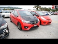 Honda Jazz GK with custom modification and K20 heart walkaround video.