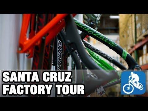 Santa Cruz factory tour