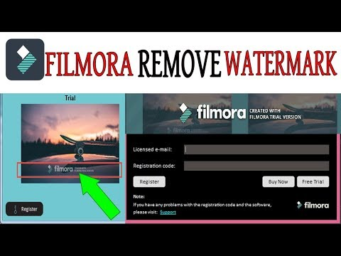 Remove The Filmora Watermark For Free 2018-2019 (100% Working)