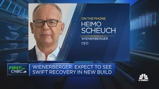 Wienerberger CEO: We see strong demand for infrastructure materials