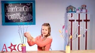 Thanksgiving Thankful Tree - DIY Craft | American Girl