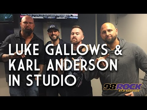 Luke Gallows and Karl Anderson In Studio