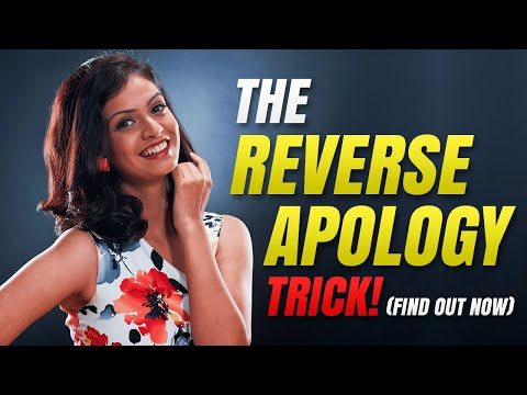 """🔴 How To Apologize To Your Girlfriend (Use the """"REVERSE APOLOGY"""")"""