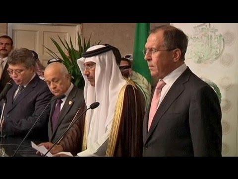 Arap Birliği ile Rusya'dan Kofi Annan'a...