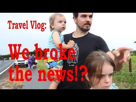 Travel Vlog: We Broke the News!?