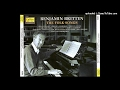 watch he video of Benjamin Britten : Five French Folksongs, arranged for voice and orchestra