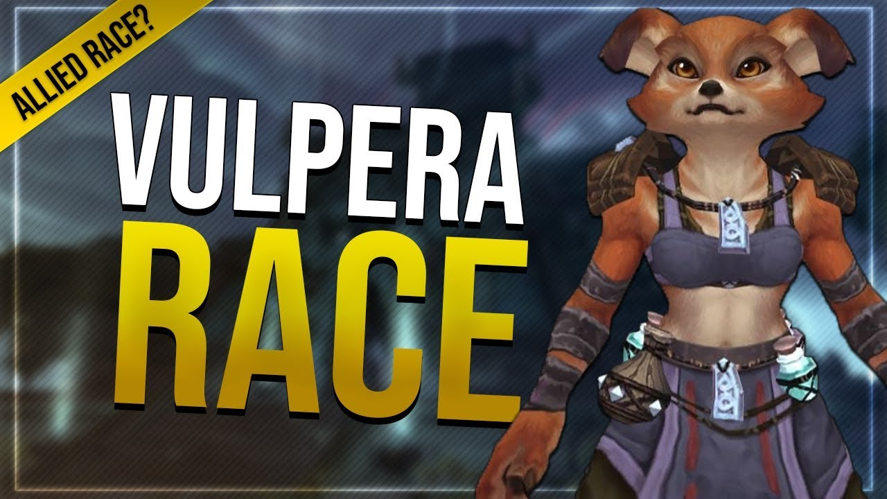 Vulpera Customization  Gear Will They Be Playable In