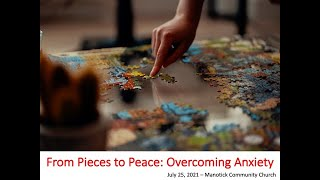 From Pieces to Peace - Overcoming Anxiety