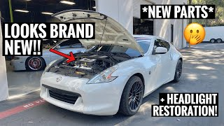 370Z Gets SUPER Cleaned and Restored!!Amazing Results!!